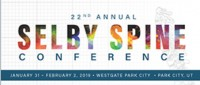 23rd Annual Selby Spine Conference